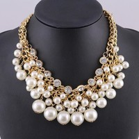 Shiny New Arrival Gift Jewelry Stylish Accessory Pearls Necklace [6586420935]