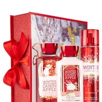 North Pole Friends Gift Set Winter Candy Apple