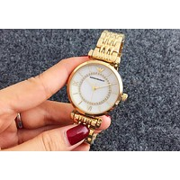 ARMANI tide brand fashion men and women watches F-Fushida-8899 Gold