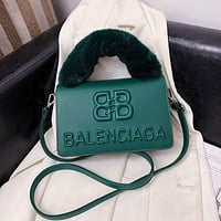 Balenciaga Leather Shoulder Bag