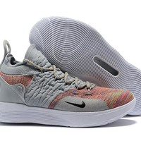 Nike Kevin Durant KD 11 Basketball Shoe -- Cool Gray