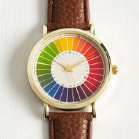 Reinventing the Color Wheel Watch by ModCloth