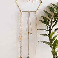 Sadie Hexagon Hanging Jewelry Stand