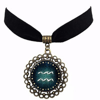 Zodiac Choker Necklace