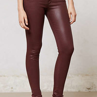 Anthropologie - Citizens of Humanity Coated Rocket Highrise Jeans