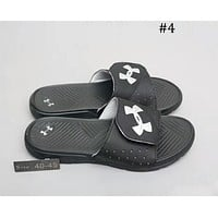 UA UNDER ARMOUR cushioning sports slippers beach shoes sandals F-A0-HXYDXPF #4