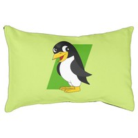 Cute penguin cartoon small dog bed