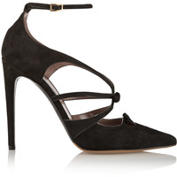 Tabitha Simmons - Bow suede pumps
