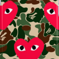 Comme Des Garcons x A Bathing Ape by ONLYFLY
