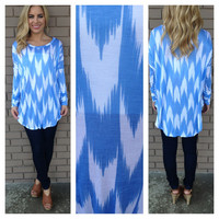 Periwinkle Perfect Tunic Top