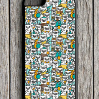 Pug Pattern iPhone 6 Case