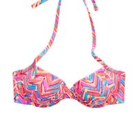 Aerie Women's Blakely Bikini Top (Cherry Pop)