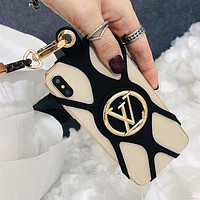 Louis Vuitton LV Louise Phone Holder iphone 7 7plus 8 8plus X XR XS MAX 11 Pro Max 12 Mini 12 Pro Max