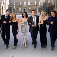 (24x36) Friends Group Dressy TV Poster Print