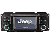 Car DVD Navi GPS for Jeep Grand Cherokee Liberty Wrangler Grand Cherokee 1999-2004 Jeep Wrangler 2003-2006 Jeep Liberty 2002-2007, in Dash Navigation System, Navigator, Built in Bluetooth A2dp, Sd AUX USB Input Radio (Am/ Fm) with Rds, 3g, Dual Zone, Phone