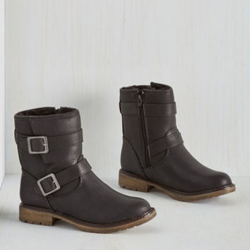 Military Fearless Footing Boot in Black