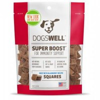 Dogswell Super Boost Beef Blueberry Squares 5 ounce