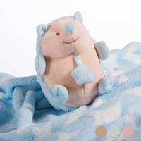 Baby?s Blanket with Soft Toy