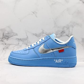 OFF-White x Nike Air Force 1 Low ¡°MCA Chicago¡± University Blue