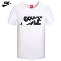 Nike Men Fashion Casual Sports Shirt Top Tee-4