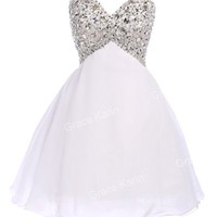 GK SHORT/MINI Homecoming Ball Gown Evening Party Bridesmaid Prom Cocktail Dress