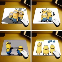 MaiYaCa New Small Size Computer desktop Minions Mouse Pad Non-Skid Rubber Pad 220mmX180mmX2mm and 250mmx290mmx2mm Mouse Pads