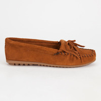 Minnetonka Kilty Womens Shoes Brown  In Sizes