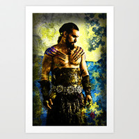 Game of Thrones: Drogo Art Print by Andre Joseph Martin