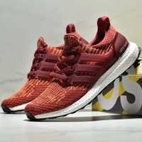 ADIDAS ULTRABOOST Popcorn knitted running shoes-4