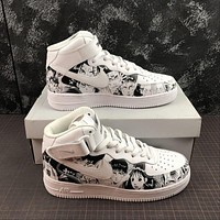 SLAM DUNK x Nike Air Force 1 CUSTOM Mid Sneakers