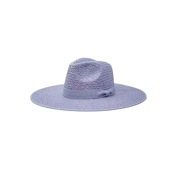 SAIL AWAY - Straw Panama Hat (Powder Blue)