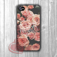 Supernatural Carry on my wayward son quote vintage flower -Lxmi for iPhone 6S case, iPhone 5s case, iPhone 6 case, iPhone 4S, Samsung S6 Edge