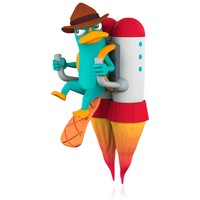 Disney Phineas and Ferb Agent P Saves the Day! Perry the Platypus Ornament