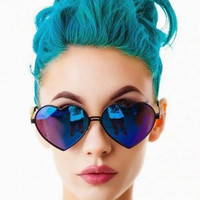 Mystery Vintage Heart Shaped Sunglasses- Retro Sunglasses- Hipster- Grunge- Accessories