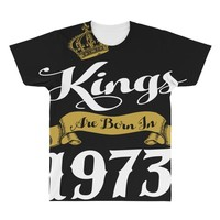 kings are born in 1973 All Over Men's T-shirt