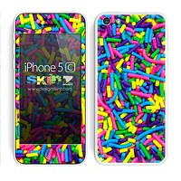 Neon Sprinkles Skin For The iPhone 5c
