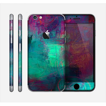 The Abstract Oil Painting V3 Skin for the Apple iPhone 6