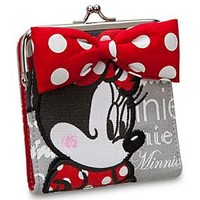 Minnie Mouse Wallet with Coinpurse   Disney Store