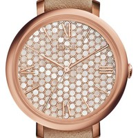 Fossil 'Jacqueline' Leather Strap Watch, 36mm   Nordstrom