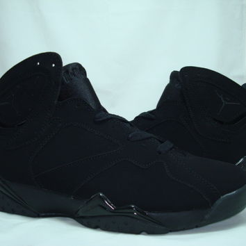 Air Jordan 7 (VII) Retro - ALL Black [bsA850923] - $73.40 : Cheap air Jordans, buy Jordans