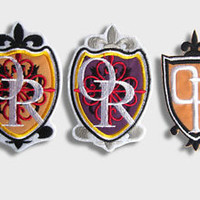 OURAN HIGH School Host Club PATCH SET of 3 patches cosplay accessories props
