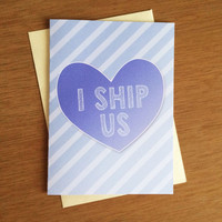 Valentine Card - I Ship Us PDF