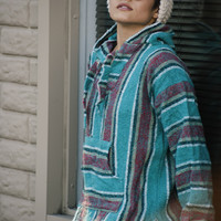 Copy of Vintage Baja Poncho
