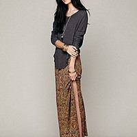Free People Sahaying Print Maxi Skirt at Free People Clothing Boutique