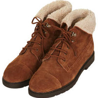 MURRY Hiker Cuff Boots - Boots  - Shoes
