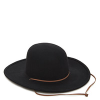 Wide-Brimmed Wool Hat