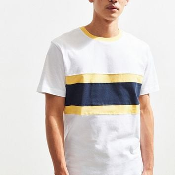 UO Chest Blocked Tee   Urban Outfitters