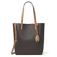Michael Kors Women's Hayley Large Logo North South Tote Bag