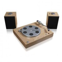 JackThreads - Audiophile Turntable with Wireless Speakers