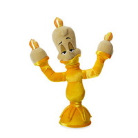"Disney Store Beauty and the Beast Lumiere 13"" Small Plush New with Tags"